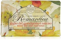 Perfumería y cosmética Jabón natural con lirio y narciso - Nesti Dante Romantica Tuscan Lily&Narcissus Soap