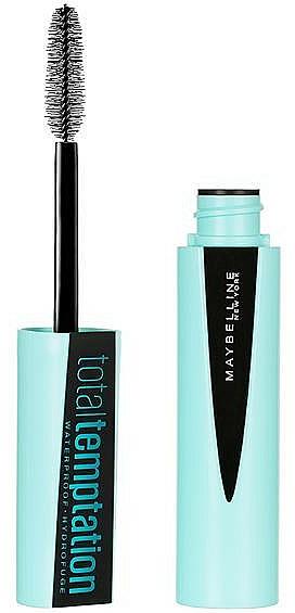 Máscara de pestañas resistente al agua para volumen - Maybelline Total Temptation Waterproof Mascara
