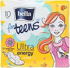 Perfumería y cosmética Compresas For Teens Ultra Energy 10 uds. - Bella