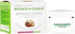 Perfumería y cosmética Sérum facial nutritivo con baba de caracol - Instituto Español Snail Serum Extract