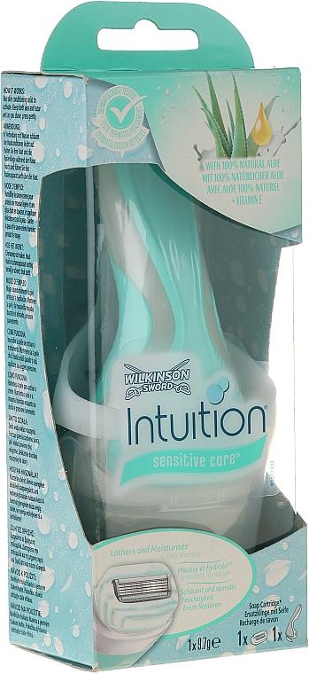 Maquinilla de depilar con recambio - Wilkinson Sword Intuition Sensitive Care