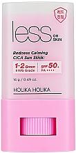 Perfumería y cosmética Protector solar en stick para rostro - Holika Holika Less on Skin Redness Calming CICA Sun Stick SPF50+
