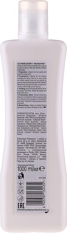 Loción química para rizado permanente profesional con proteína de seda - Schwarzkopf Professional Natural Styling Classic Lotion 0 — imagen N2