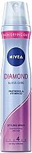 Perfumería y cosmética Laca brillo de diamante con pantenol y vitamina B3, fijación extra fuerte - Nivea Hair Care Diamond Gloss Styling Spray