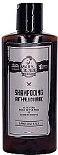 Perfumería y cosmética Champú anticaspa con aceite de árbol de té y ácido cítrico - Man'S Beard Anti-Dandruff Shampoo Sulphate Free