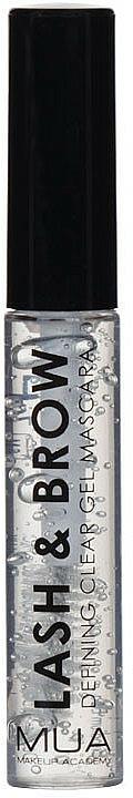 Gel transparente para cejas & pestañas - MUA Lash & Brow Clear Mascara