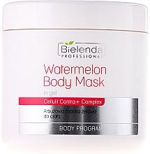 Perfumería y cosmética Mascarilla corporal en gel con extracto de sandía y ácido hialurónico - Bielenda Professional Watermelon Gel Body Mask