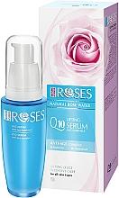 Perfumería y cosmética Sérum facial antiarrugas con coenzima Q10 y aceite de almendras - Nature of Agiva Roses Anti-Age Complex Q10 Anti-Wrinkle Lifting Serum