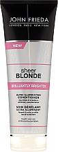 Perfumería y cosmética Acondicionador ultra iluminador para rubios mas brillantes - John Frieda Sheer Blonde Brilliantly Brighter Conditioner