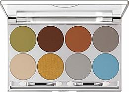 Perfumería y cosmética Paleta de sombras de ojos - Kryolan Dermacolor Light Eye Shadow Palette 8 Colors
