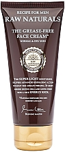 Perfumería y cosmética Crema facial con extracto de canela, jengibre y lúpulo - Recipe For Men RAW Naturals The Grease-Free Face Cream