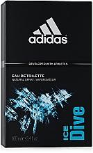 Adidas Ice Dive - Eau de toilette — imagen N3