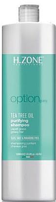 Champú purificante con aceite de árbol de té - H.Zone Option — imagen N2