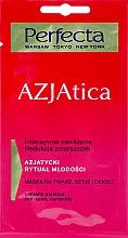 Perfumería y cosmética Mascarilla facial para rostro, cuello y escote con centella asiática y ceramidas - Perfecta Azjatica Mask For Face Neck And Decolletage