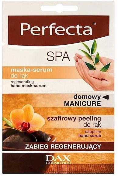 Mascarilla-serum regeneradora para manos con extracto de árnica - Perfecta Spa Hand Peeling