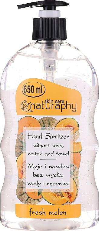 Gel de manos antibacteriano con aroma a melón - Bluxcosmetics Naturaphy Alcohol Hand Sanitizer With Fresh Melon Fragrance