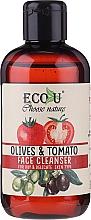 Perfumería y cosmética Gel de limpieza facial con extracto de tomate y oliva - Eco U Face Cleanser