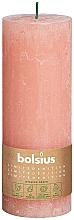 Perfumería y cosmética Vela cilíndrica, rosa, 190x68 mm - Bolsius
