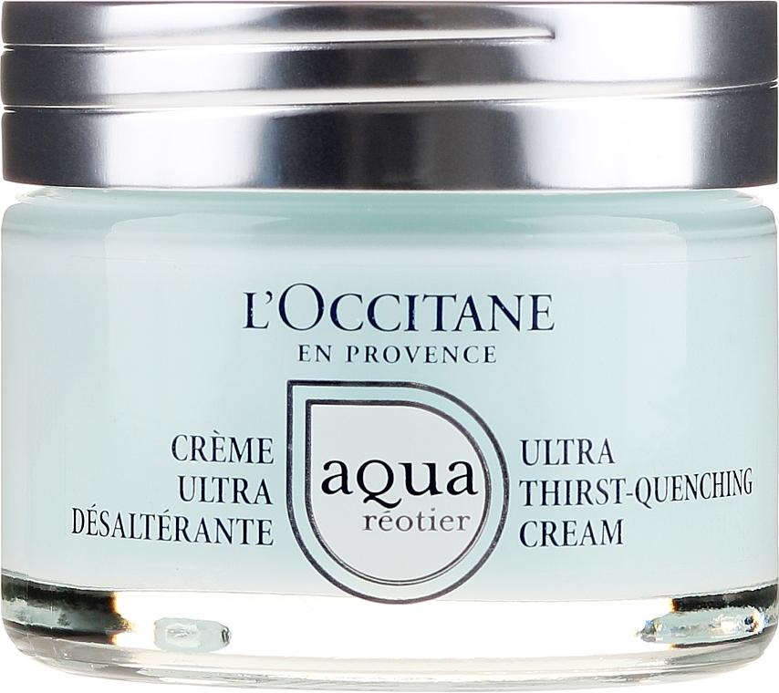 Crema facial hidratante con agua provenzal y ácido hialurónico - L'Occitane Aqua Reotier Acial Ultra Hidratante — imagen N2