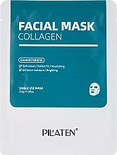 Perfumería y cosmética Mascarilla facial antiedad con colágeno - Pilaten Collagen Facial Mask