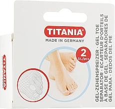 Perfumería y cosmética Separador de dedos de gel para pies - Titania