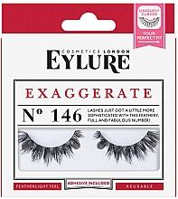 Perfumería y cosmética Pestañas postizas con pegamento incluido - Eylure Pre-Glued Exagerrate №146