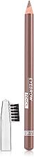 Perfumería y cosmética Lápiz de cejas con cepillo - Luxvisage Eyebrow Pencil