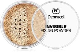 Perfumería y cosmética Polvo fijador transparente - Dermacol Invisible Fixing Powder