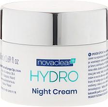 Perfumería y cosmética Crema-mascarilla facial con 10% ácido hialurónico - Novaclear Hydro Night Cream