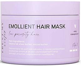 Perfumería y cosmética Mascarilla emoliente para cabello de porocidad baja con aceite de coco y manteca de karité - Trust My Sister Low Porosity Hair Emollient Mask