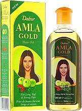 Perfumería y cosmética Aceite para cabello de almendra, extracto de amla y henna - Dabur Amla Gold Hair Oil