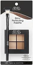 Perfumería y cosmética Paleta perfeccionadora de cejas cremosa con pincel de corrección - Ardell Brow Perfecting Palette