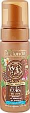 Perfumería y cosmética Espuma corporal bronceadora con caramelo - Bielenda Magic Bronze
