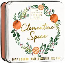 Perfumería y cosmética Jabón de manos y cuerpo con aroma a clementina y jengibre - Scottish Fine Soaps Clementine Spice Soap