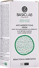 Perfumería y cosmética Sérum facial antiimperfecciones con 10% niacinamida y 5% prebiótico - BasicLab Esteticus Face Serum