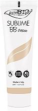 Perfumería y cosmética BB crema anti-imperfecciones con aceite de oliva y manteca de karité - PuroBio Cosmetics Sublime BB Cream