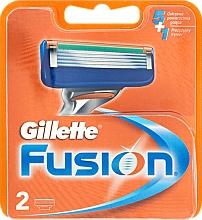 Perfumería y cosmética Recambios de cuchillas, 2uds. - Gillette Fusion