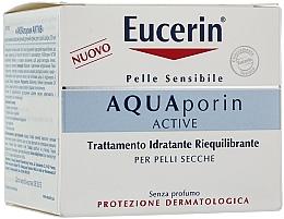 Perfumería y cosmética Crema facial con aceite de jojoba - Eucerin AquaPorin Active Deep Long-lasting Hydration For Dry Skin
