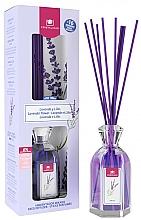 Perfumería y cosmética Ambientador Mikado con aroma a lavanda y lila sin alcohol - Cristalinas Reed Diffuser