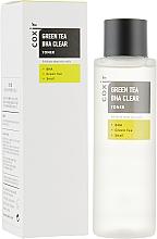 Perfumería y cosmética Tónico facial con extracto de té verde, BHA ácidos y baba de caracol - Coxir Green Tea BHA BHA Clear Toner