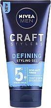 Perfumería y cosmética Gel de fijación fuerte - Nivea Men Craft Stylers Defining Styling Gel