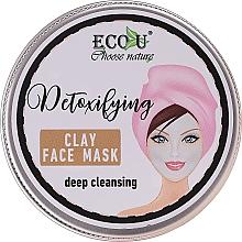 Perfumería y cosmética Mascarilla facial detox con extracto de menta - Eco U Detoxifying Deep Cleansing Clay Face Mask