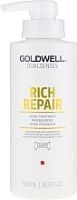 Perfumería y cosmética Mascarilla capilar reparadora con queratina y pantenol - Goldwell Rich Repair Treatment