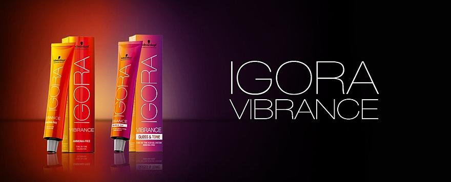Coloración tono sobre tono, sin amoníaco - Schwarzkopf Professional Igora Vibrance  — imagen N2