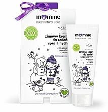 Perfumería y cosmética Crema de invierno eco hipoalergénica para rostro, cuello y labios con karité y aceite de aguacate - Momme Baby Natural Care
