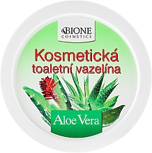 Perfumería y cosmética Vaselina cosmética con aloe vera - Bione Cosmetics Aloe Vera Cosmetic Vaseline
