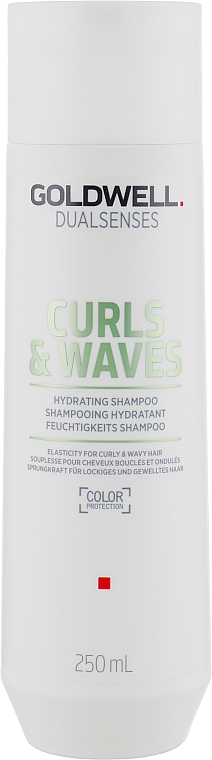 Champú hidratante con proteínas de leche - Goldwell Dualsenses Curls & Waves Hydrating Shampoo