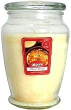 Perfumería y cosmética Vela perfumada en tarro con aroma a Creme Brulee - Airpure Creme Brulee Scented Candle