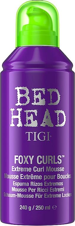 Mousse para rizos extremos - Tigi Bed Head Foxy Curls Extreme Curl Mousse — imagen N3