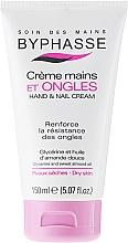 Perfumería y cosmética Crema de manos y uñas con glicerina y aceite de almendras - Byphasse Hand And Nail Cream
